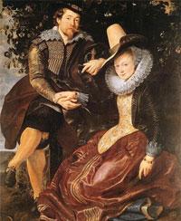П.П. Рубенс с женой (автопортрет)