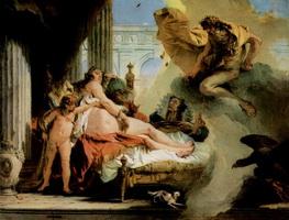 Зевс и Даная (Дж. Тьеполо, 1736 г.)
